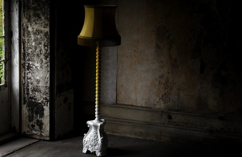 Tawny Brown Is The Colour Trend For 2020: Skyscrapper Floor Lamp by Home's Society