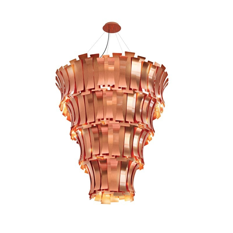 Tawny Brown Is The Colour Trend For 2020: Etta Suspension Lamp by Delightfull