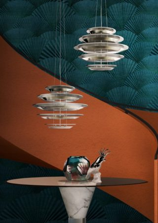 Dining Room Statement Lighting by DelightFULL & Luxxo