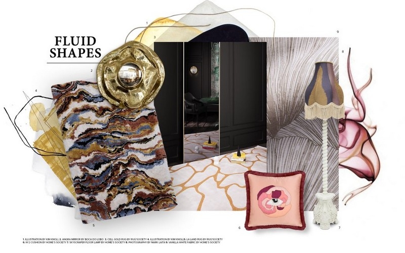 Be Inspired by The Fluid Shapes Trend 2019