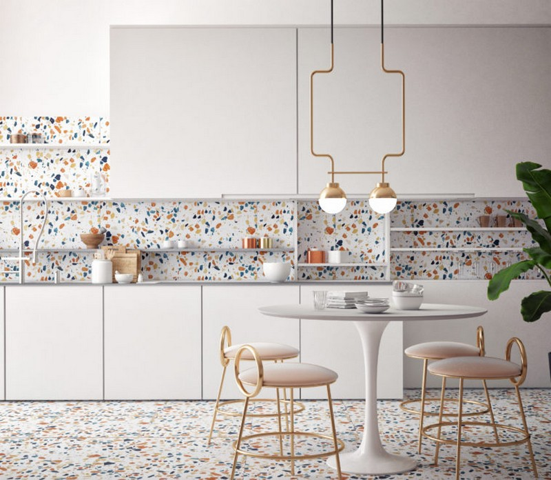 Be Inspired by The Terrazzo Interior Design Trend