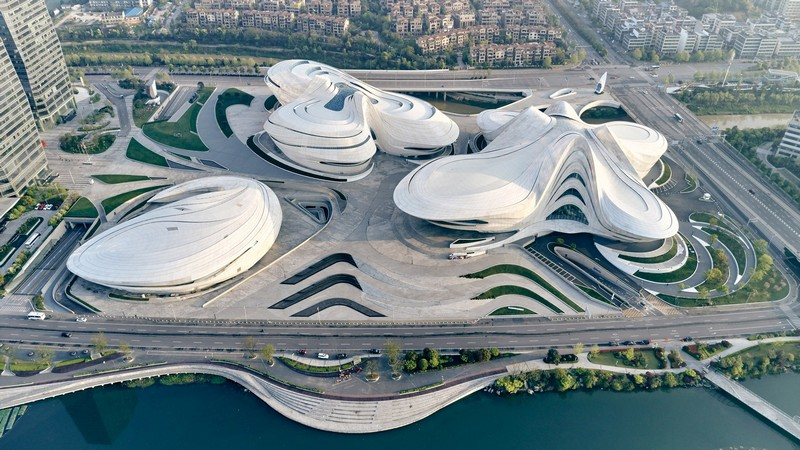 Chinese Cultural Centre by Zaha Hadid Architects Is Almost Finished