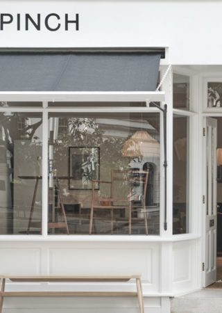 Let's take a little peek inside Pinch's new Flagship Store in London