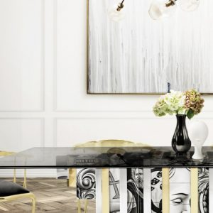 Feel inspired by these Dining Room Luxury Settings by Boca do Lobo
