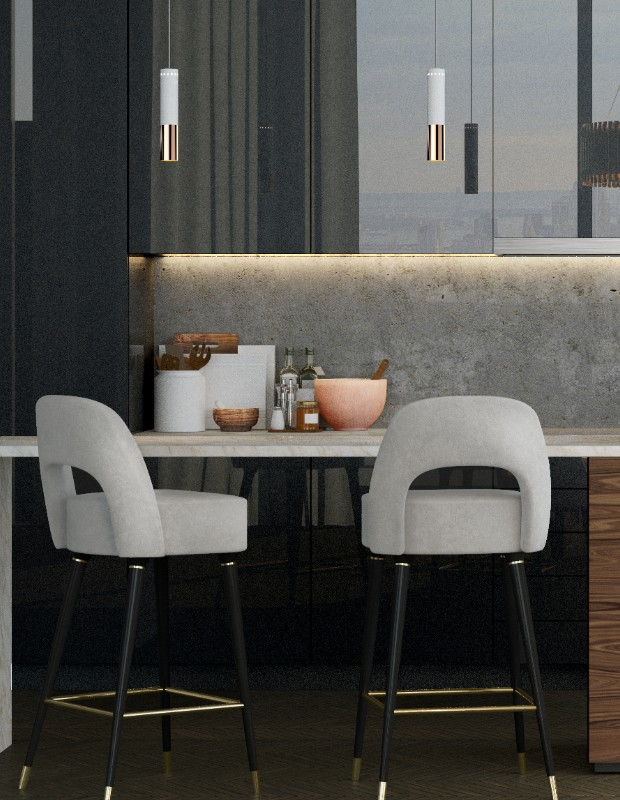 Give your Kitchen Decor a Mid-Century Feel with luxury furniture