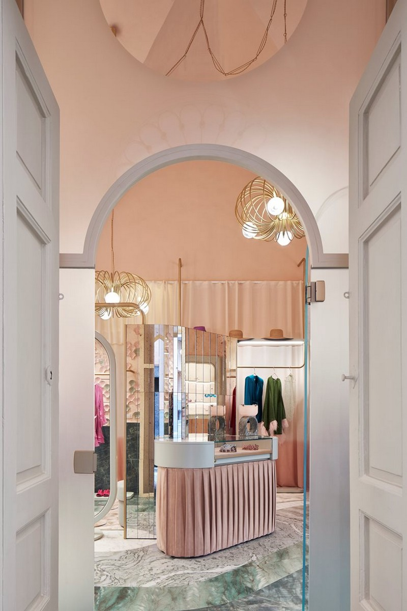 Inside The Pink Closet Boutique by Cristina Celestino