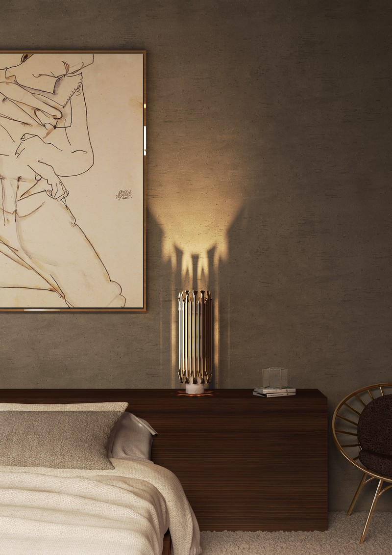 Learn how to add some Gold Elements into your Bedroom Decor_4