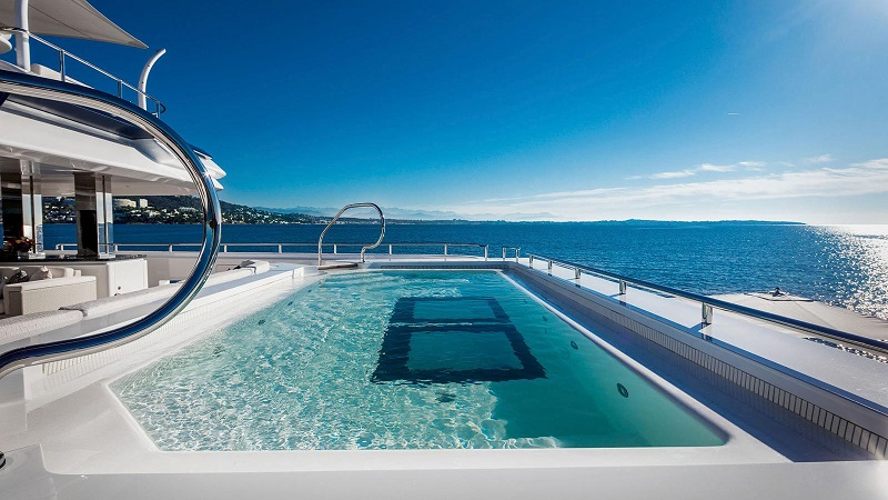 superyacht swimming pools 11 Mesmerizing Superyacht Swimming Pools That You'll Fall In Love 11 Amazing Superyacht Pools That Will Dazzle You 7
