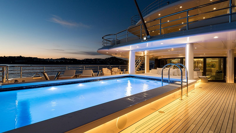 superyacht swimming pools 11 Mesmerizing Superyacht Swimming Pools That You'll Fall In Love 11 Amazing Superyacht Pools That Will Dazzle You 8