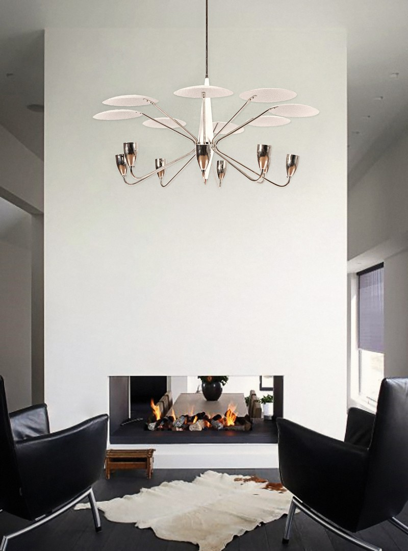 Dining Room Decor See some Top White Chandeliers for your Decor_4