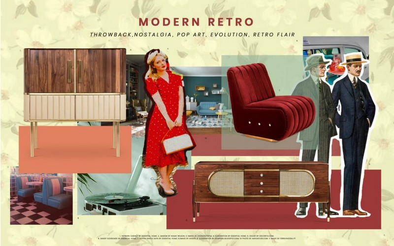 Discover The Modern Retro Trend and Transform Your Interior Design
