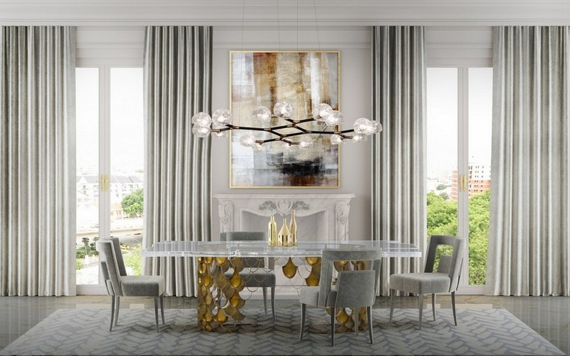 Bring Fall Into Your Home With These Dining Room Designs