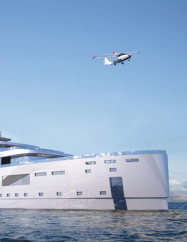 Inspiring Superyacht Projects Gill Schmid Design's New Hybrid 1