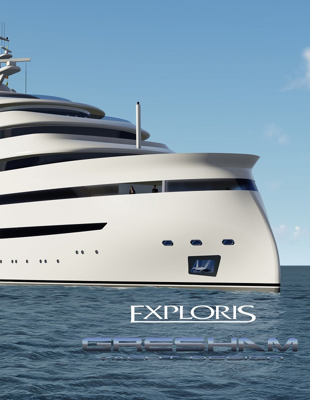 4 Impressive Superyacht Projects From Gresham Yacht Design feat