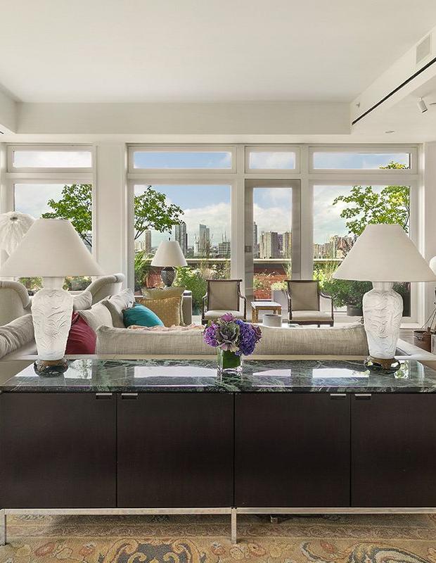 Celebrity Homes Meryl Streep's Luxurious NYC Penthouse 2