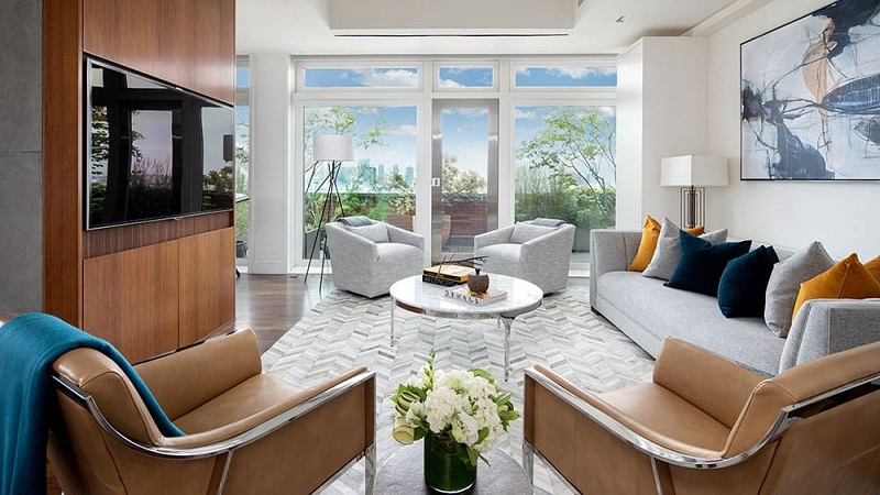Celebrity Homes Meryl Streep's Luxurious NYC Penthouse 2