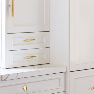 Decorate your Kitchen Drawers with Luxury Hardware!