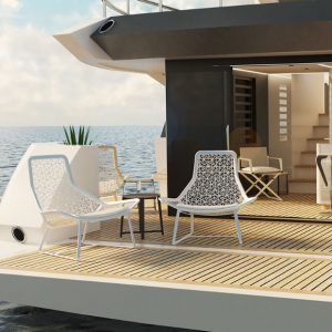 Enter inside of one of Mark Tucker's Upcoming Yacht Projects