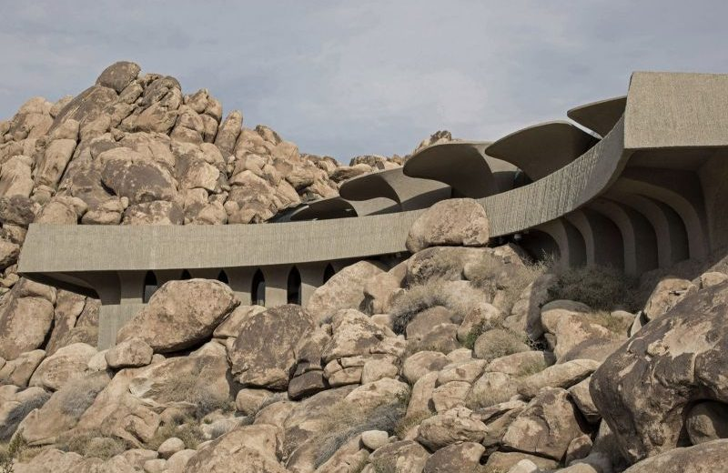Impressive Architectural Design In Joshua Tree