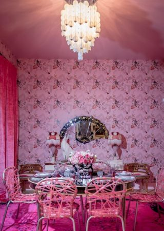 The Dreamy Holiday House Soho by Sasha Bikoff