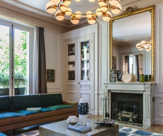 A tour into an Incredible Luxury apartment by Gérard Faivre
