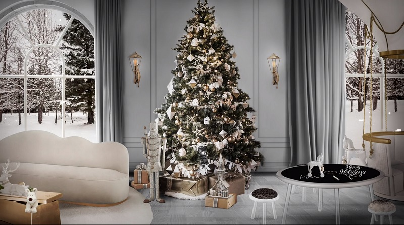 Christmas Living Room Decoration Ideas 4