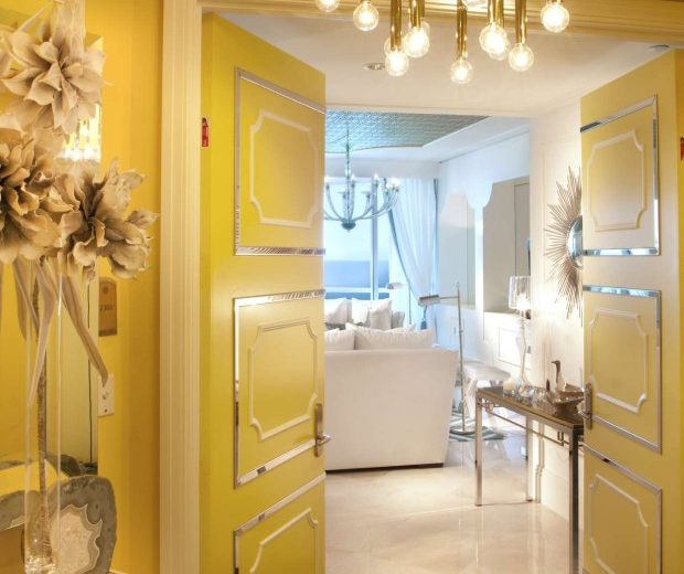 Enter the colorful Turnberry Ocean Colony by DKOR Interiors