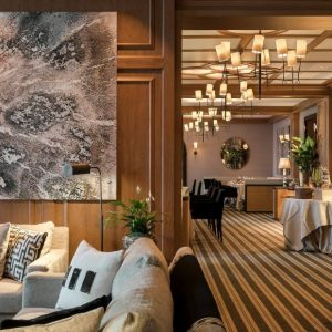 See the Marvellous Gstaad Hotel handled by Alberto Pinto