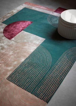 See this Colourful Rug Collection Designed by Laura Pozzi!