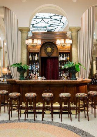 Take a look at Dimorestudio's take on Grand Hotel et de Milan