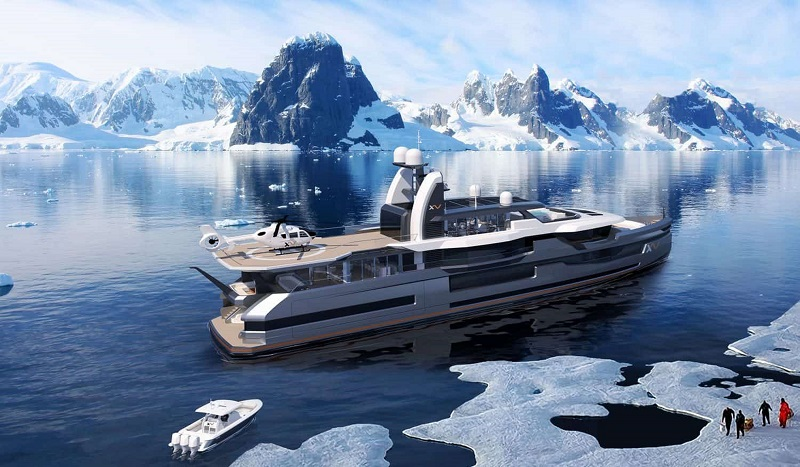 Heesen Yachts XVenture 5, the Ultimate Explorer Yacht 1Heesen Yachts XVenture 5, the Ultimate Explorer Yacht 1