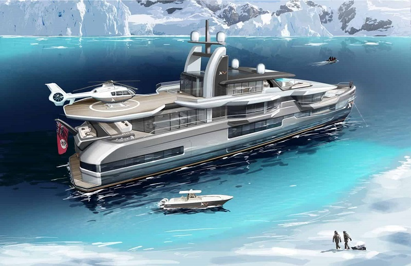 Heesen Yachts XVenture 5, the Ultimate Explorer Yacht 1