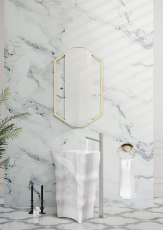 How Marble Successfully Glamorizes the Bathroom Decor