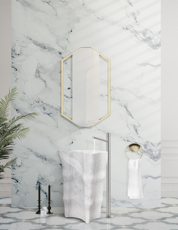 How Marble Successfully Glamorizes the Bathroom Decor