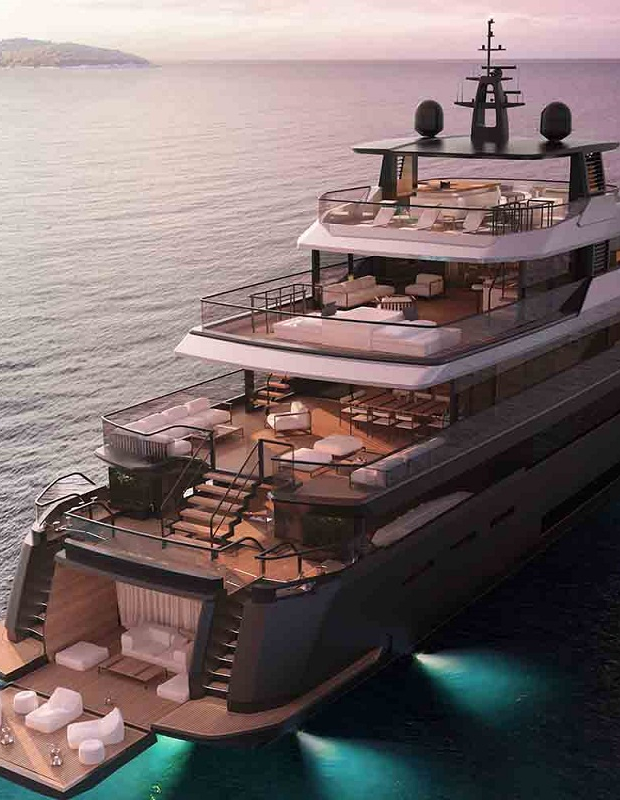 New B.Yond 37m Project From Benetti Yachts 0