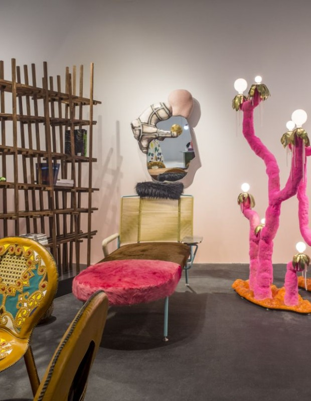 These are 5 of the top Exhibitors now at Design Miami 2019!
