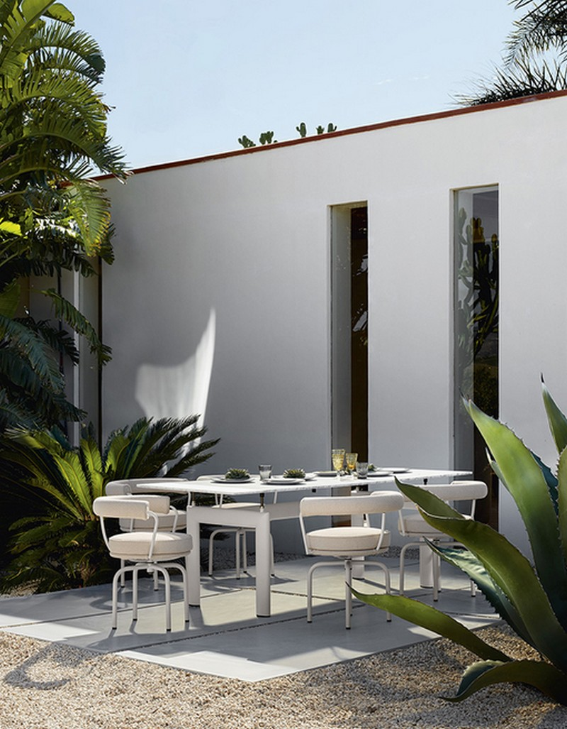 Be Inspired By Cassina's Newest Outdoor Furniture Collection