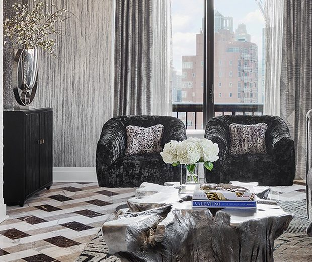 Relax Inside the Lovely UES Pied-À-Terre by Ovadia Design Group
