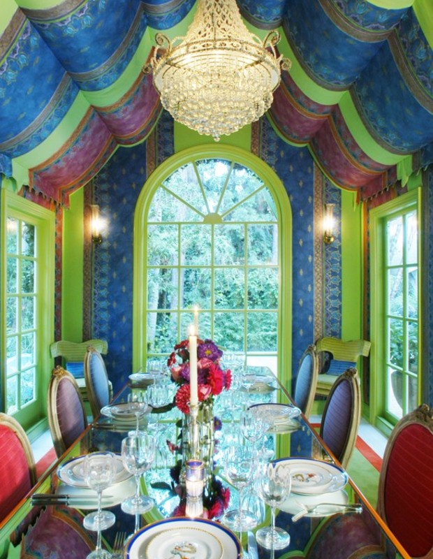 The most Amazing Dining Rooms by Timothy Corrigan