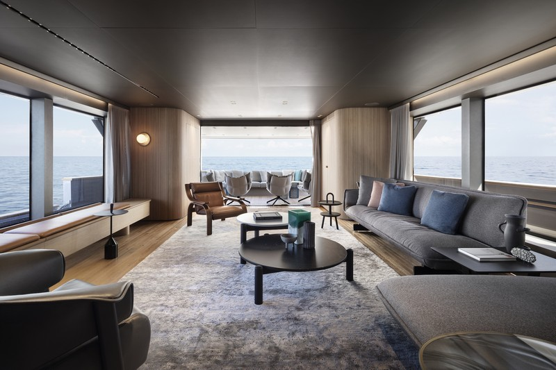 See Patricia Urquiola's First Yacht Project for Sanlorenzo!