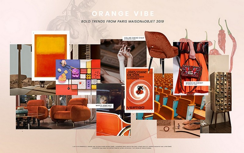 Orange Interior Decor To Set Your Mood Right