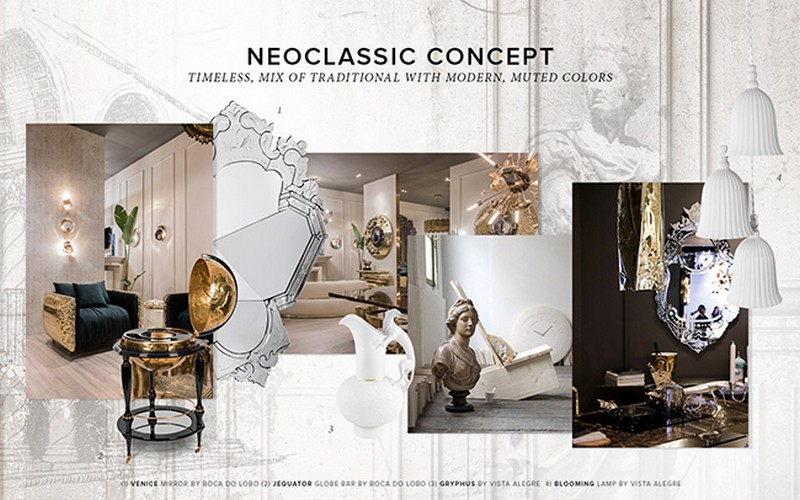 Timeless Elegance With Neoclassic Design Concept