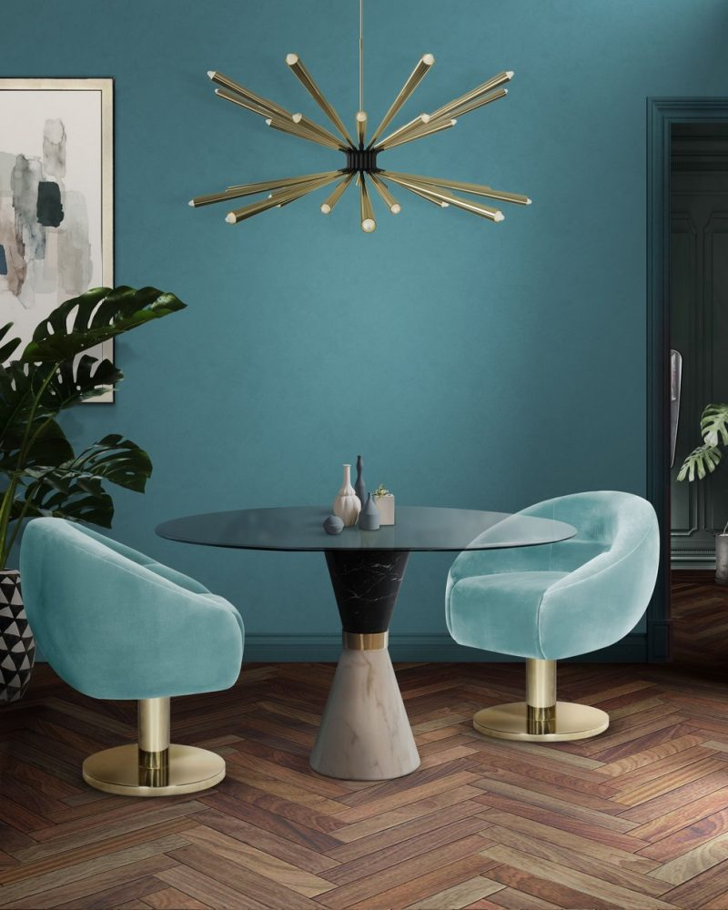 Beautiful Dining Chairs To Give A Splash of Colour To Your Dining Room