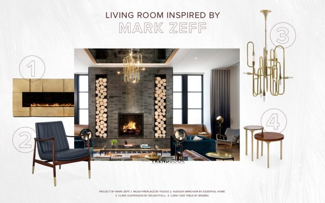 LIVING ROOM DESIGN INSPIRED BY MARKZEFF