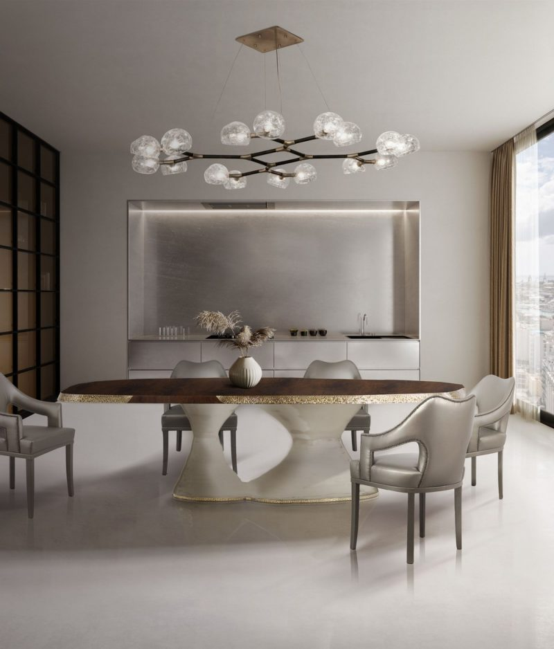 How To Use Contemporary Neutrals In Your Dining Room