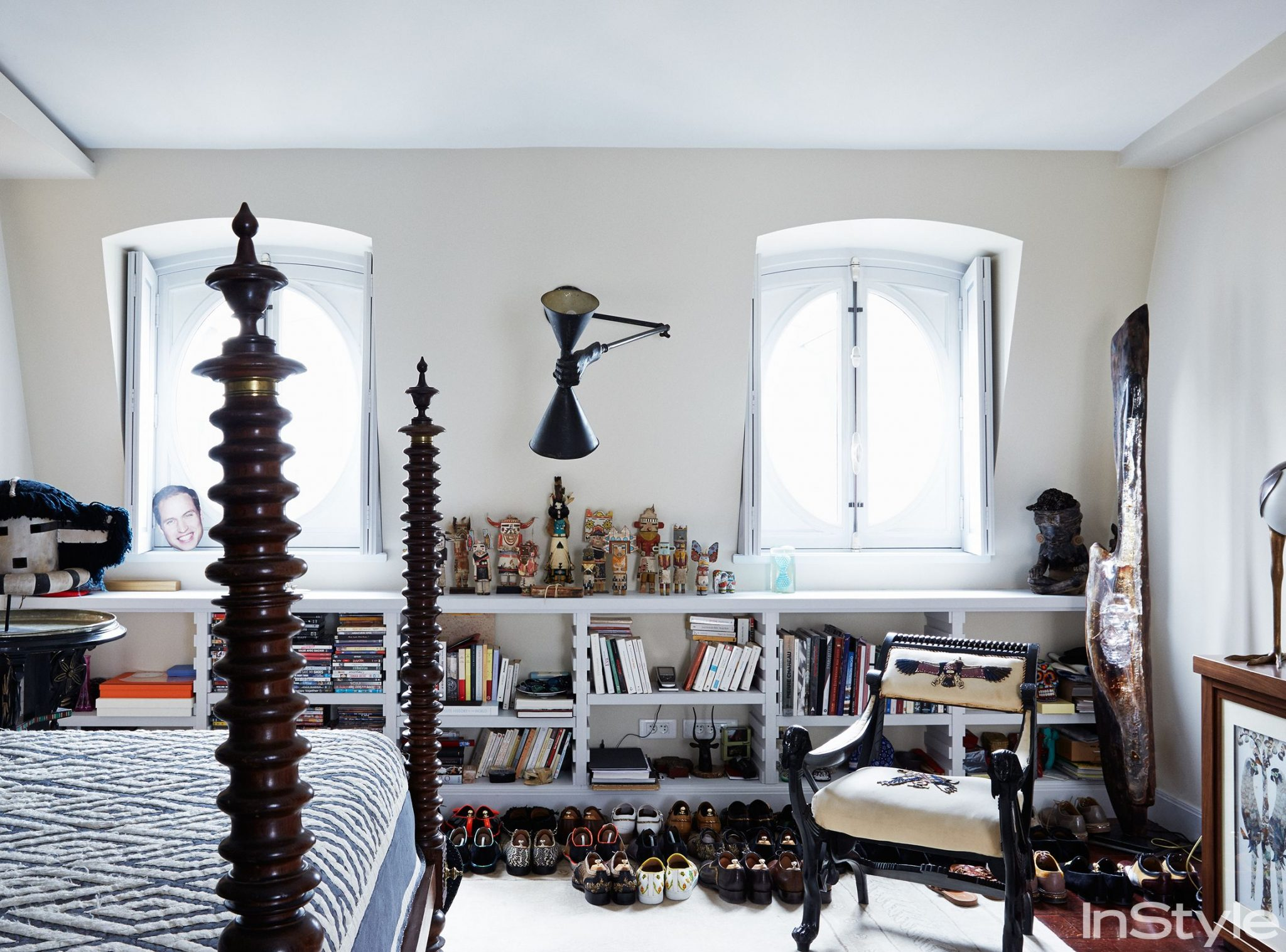 Christian Louboutin's Luxuxy Penthouse Designed By Jacques Grange
