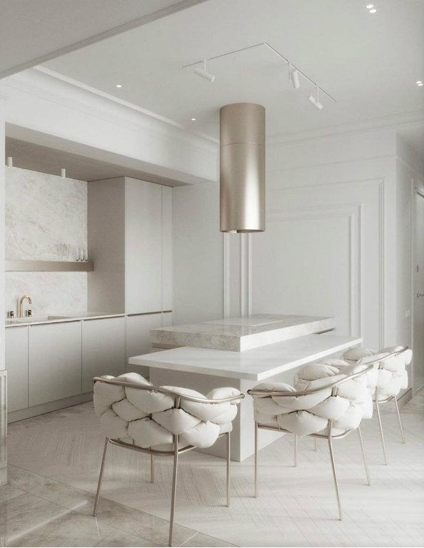 White Room Interiors: Aesthetic Design Ideas for the Colour of Light