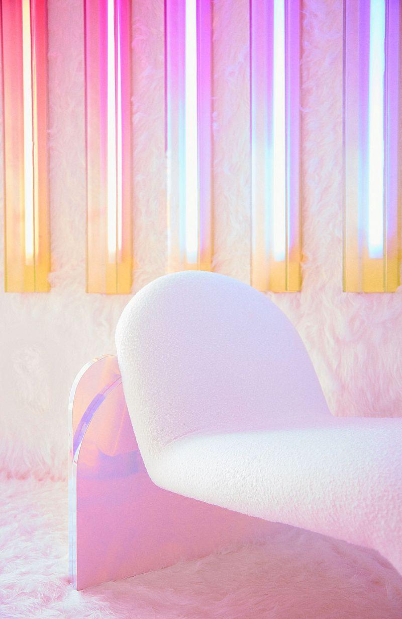 Patricia Bustos Studio Creates A Neon-Inspired Bathroom Design