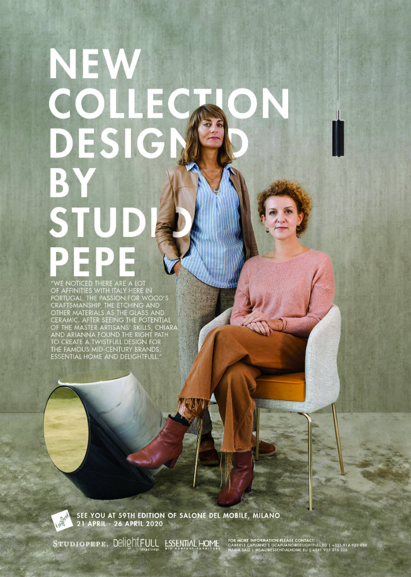 Studio Pepe And Essential Home, The Mid Century Partnership of the Year