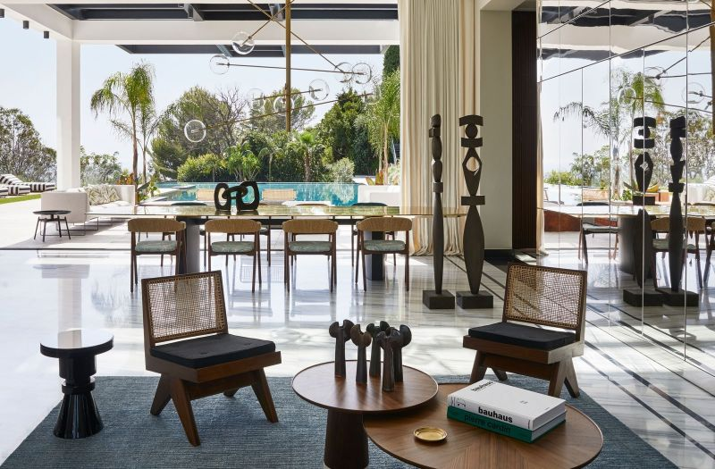 A Luxury Summer Retreat In Cannes Courtesy Of Humbert and Poyet